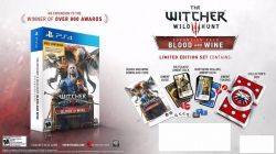 PS4. THE WITCHER EXPANSÃO BLOOD AND WINE. REQUER THE WITCHER. NOVO. PS4