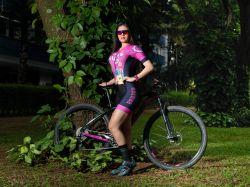 Macaquinho - Unicórnio  - Manga Curta - Macaquinho de Ciclismo