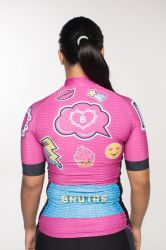Camisa -Unicórnio-Manga Curta - Camisa de Ciclismo