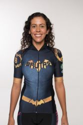 Camisa -Bat Girl-Manga Curta - Camisa de Ciclismo