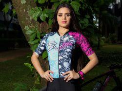 Camisa - Caveira Tradicional - Manga Curta - Camisa de Ciclismo