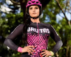 Camisa Brutas Oficial - Manga Longa - Camisa de Ciclismo