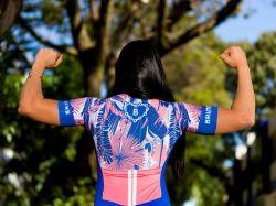 Camisa - Tropicália  -Manga Curta - Camisa de Ciclismo