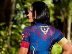 Camisa  SUPER BRUTA  - Manga Curta - Camisa de Ciclismo