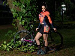 Macaquinho Ciclismo - As Incríveis Brutas - Manga Longa